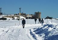 mont Aigoual en hiver