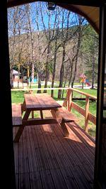 cabane vue extérieur