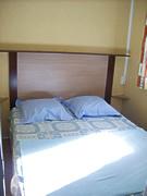 chambre lit double du mobil-home 6 personnes