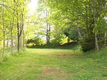 petit bancel au camping Le pré de Charlet
